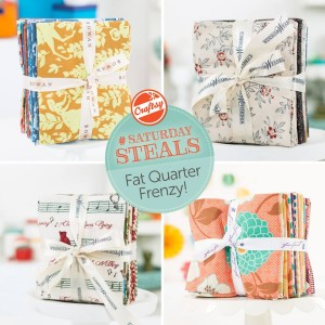 Craftsy's Fat Quarter Frenzy Sale