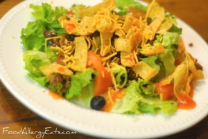 Allergy Free Taco Salad Recipe
