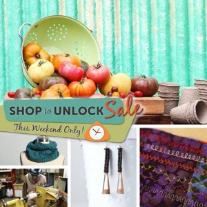 Craftsy's Shop to Unlock Sale