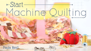 Craftsy Start Machine Quilting Class