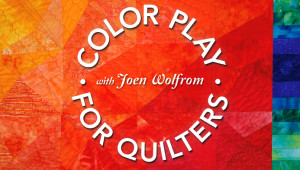 Craftsy's Color Play for Quilters Class